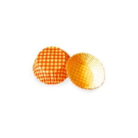 Košíčky muffin - oranžové